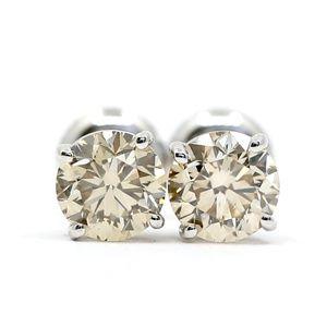 2.03 Carat Diamonds Studs